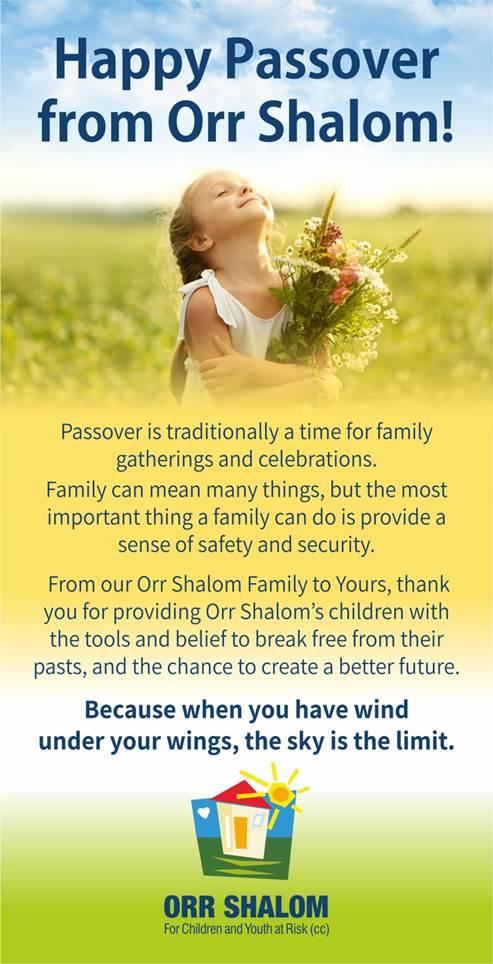 Orr Shalom Easter